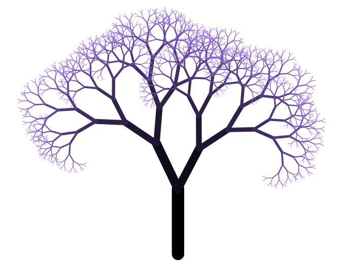 albero-frattale